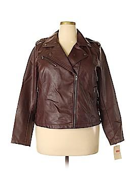 Levi's Faux Leather Jacket Size 1X (Plus)