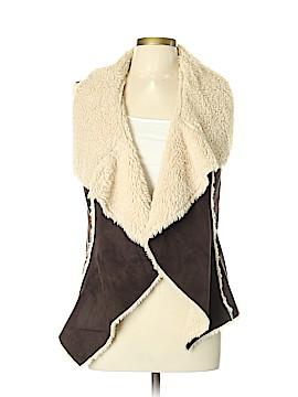 Knox Rose Faux Fur Vest Size L