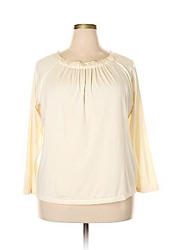Talbots Long Sleeve Top Size 2X (Plus)
