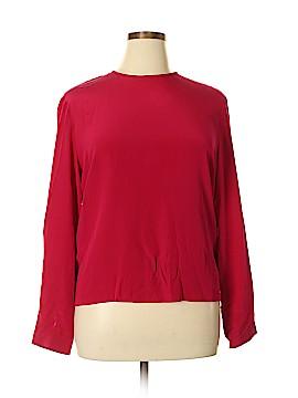 Kasper & Company ASL Long Sleeve Blouse Size 14