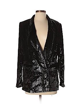 H&M Silk Blazer Size 8