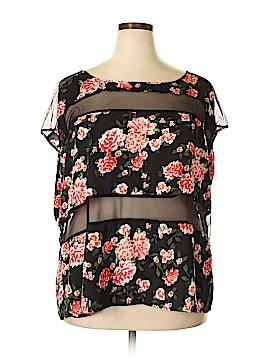 Torrid Short Sleeve Blouse Size 3X Plus (3) (Plus)