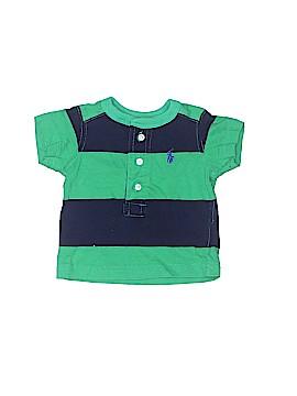 Ralph Lauren Short Sleeve Henley Size 3 mo