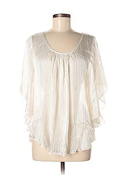 Karen Kane Short Sleeve Silk Top Size M