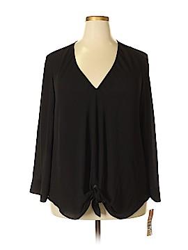 RACHEL Rachel Roy Long Sleeve Blouse Size 2X (Plus)