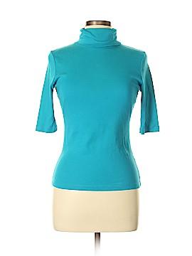 Lilla P Short Sleeve Turtleneck Size M