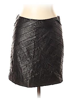 Catherine Malandrino Leather Skirt Size 10