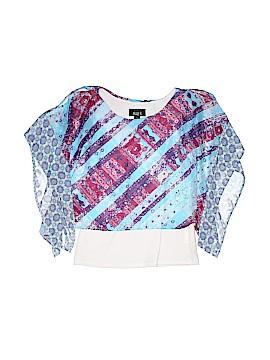Ally B 3/4 Sleeve Blouse Size 10