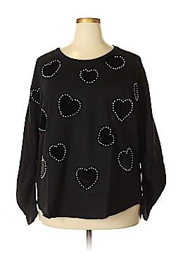 INC International Concepts Sweatshirt Size 2X (Plus)