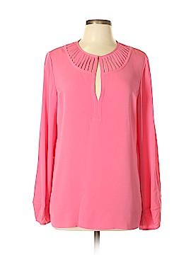Diane von Furstenberg Long Sleeve Blouse Size 12