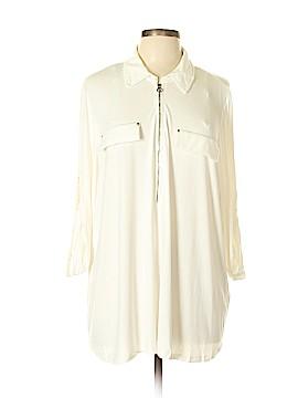 Calvin Klein 3/4 Sleeve Top Size 2X (Plus)