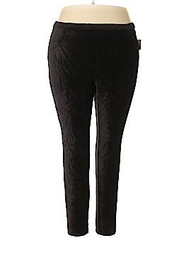 Style&Co Velour Pants Size 3X (Plus)