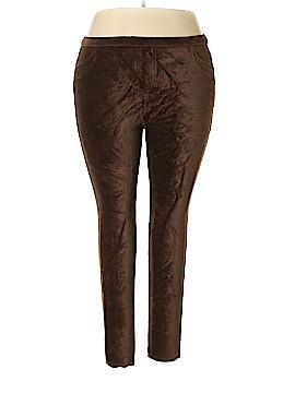 Style&Co Velour Pants Size 1X (Plus)