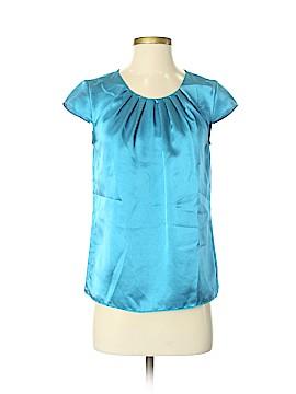 Ann Taylor Factory Short Sleeve Blouse Size 0
