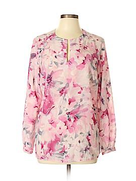 Jones New York Collection Long Sleeve Button-Down Shirt Size 10