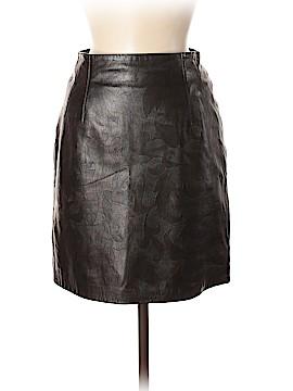 Escada by Margaretha Ley Leather Skirt Size 38 (IT)