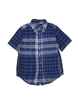 Ralph Lauren Short Sleeve Button-Down Shirt Size 10 - 12