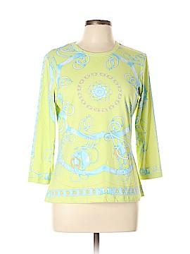 J. McLaughlin 3/4 Sleeve T-Shirt Size L