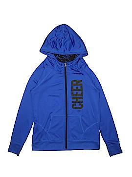 Justice Zip Up Hoodie Size 12