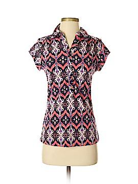 Alfani Short Sleeve Button-Down Shirt Size S