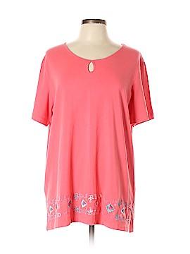 Denim Co Short Sleeve Top Size XL