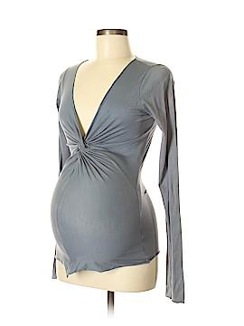 Velvet Long Sleeve Top Size M (Maternity)