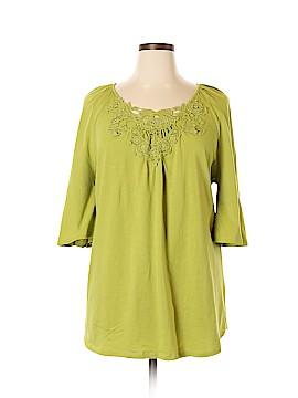 Jessica London 3/4 Sleeve T-Shirt Size 18 - 20 (Plus)