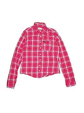 Abe Jones Long Sleeve Button-Down Shirt Size M (Kids)