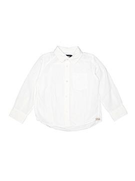 H&M L.O.G.G. Long Sleeve Button-Down Shirt Size 5/6