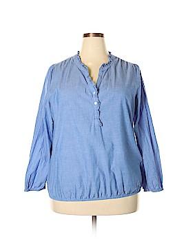 Lane Bryant Long Sleeve Blouse Size 18 - 20 Plus (Plus)