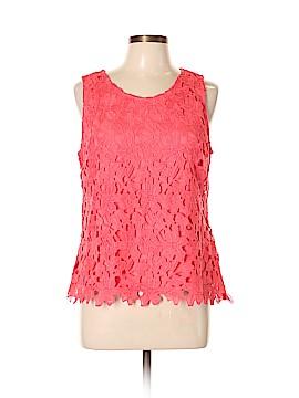Ultra Pink Sleeveless Blouse Size L