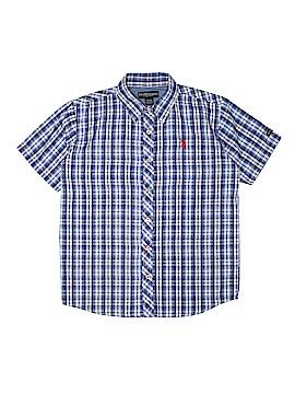 U.S. Polo Assn. Short Sleeve Button-Down Shirt Size 14 - 16