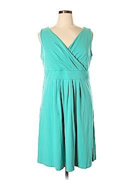 Lands' End Casual Dress Size 1X (Plus)