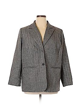 Jessica London Wool Blazer Size 20 (Plus)
