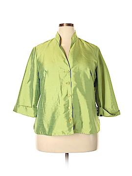 Venezia 3/4 Sleeve Blouse Size 18 - 20 Plus (Plus)