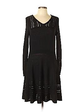 Simply Vera Vera Wang Casual Dress Size L (Petite)