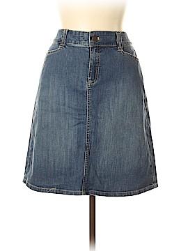 Bass Denim Skirt Size 12