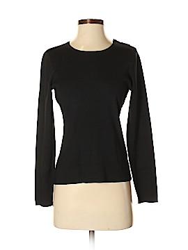 Ann Taylor Long Sleeve Silk Top Size S