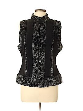 DressBarn Leather Jacket Size L