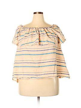Lane Bryant Short Sleeve Blouse Size 18 - 20 Plus (Plus)