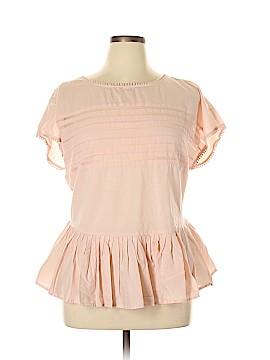 Lane Bryant Short Sleeve Blouse Size 16 (Plus)