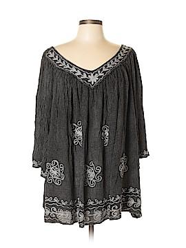 Sacred Threads 3/4 Sleeve Blouse Size XL