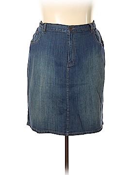Lauren Jeans Co. Denim Skirt Size 20 (Plus)