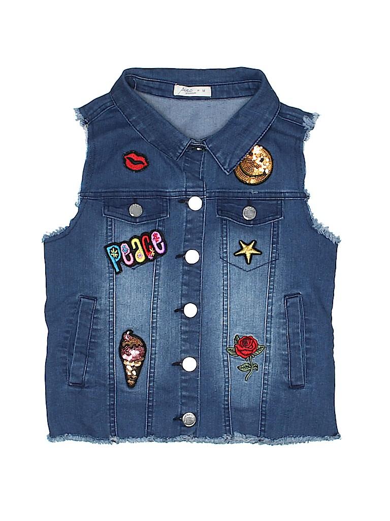 Pinc Premium Girls Denim Vest Size M (Youth)