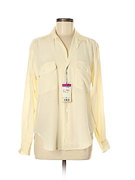 Ralph by Ralph Lauren Long Sleeve Silk Top Size 2