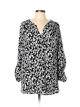 Lane Bryant 3/4 Sleeve Blouse Size 14 (Plus)