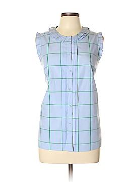 J. Crew Sleeveless Button-Down Shirt Size 12 (Tall)