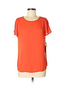 CeCe Short Sleeve Blouse Size M