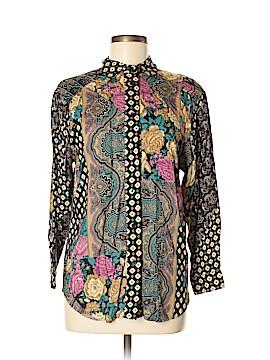 Koret Long Sleeve Button-Down Shirt Size M
