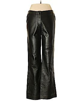 DKNY Leather Pants Size 10